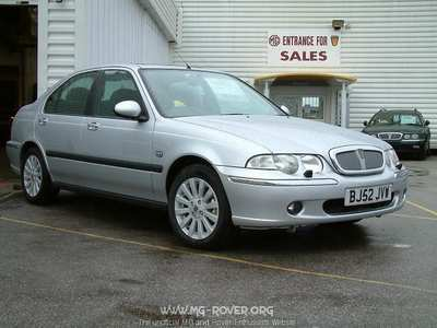 rover 45 saloon-pic. 2
