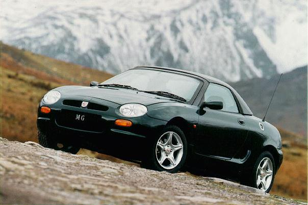 rover mgf #3