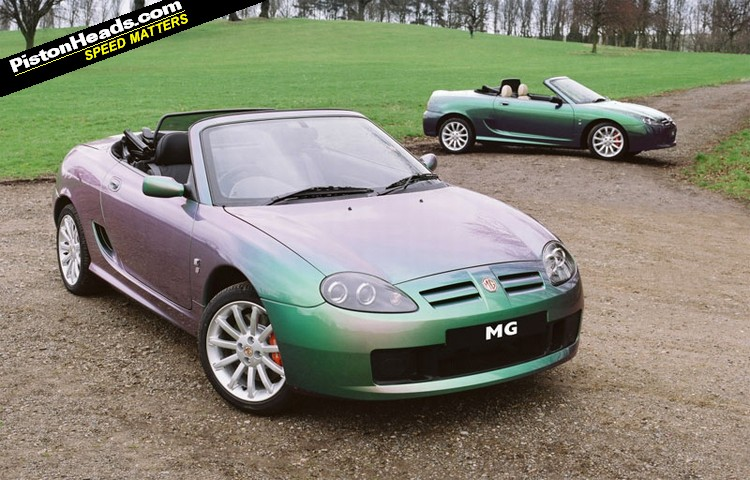 rover mgf #5