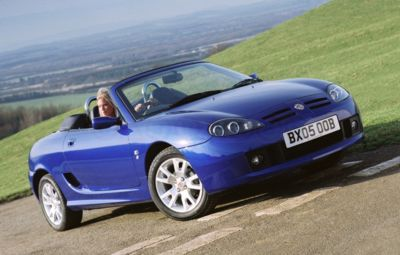 rover mgf #7