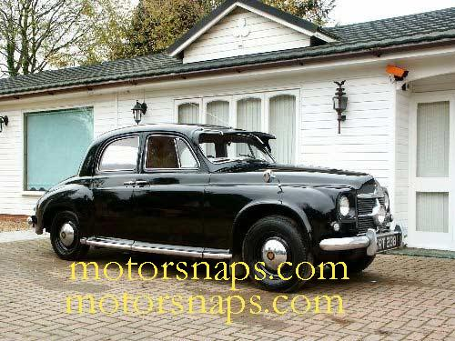 rover p4 75-pic. 2