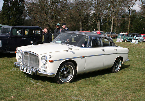 rover p5 coupe #4