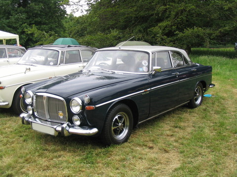 rover p5 coupe #5