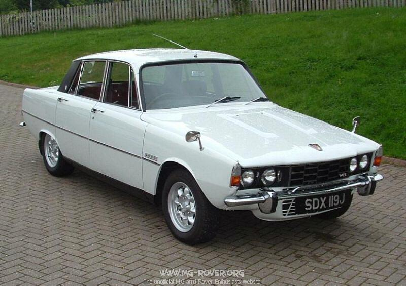 rover p6 3500 s-pic. 1