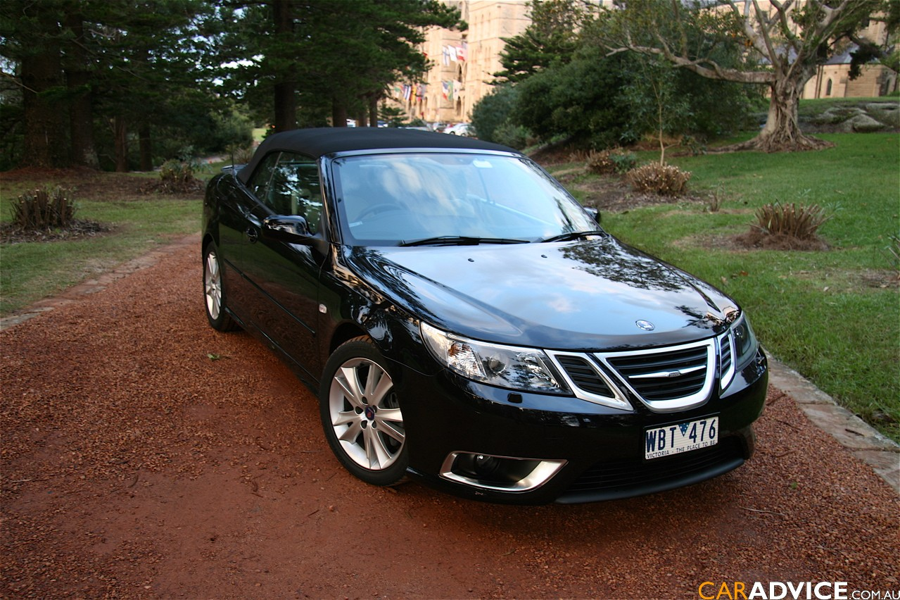 saab 9 3 aero convertible photos and comments. Black Bedroom Furniture Sets. Home Design Ideas