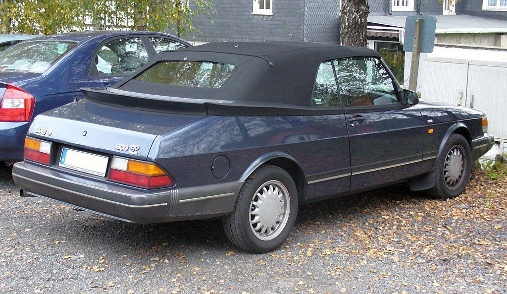 saab 900 cabriolet photos and comments. Black Bedroom Furniture Sets. Home Design Ideas