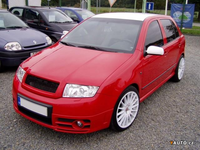 skoda fabia 1 9 tdi rs photos and comments. Black Bedroom Furniture Sets. Home Design Ideas