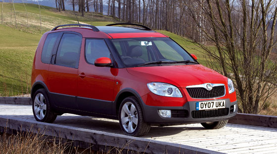 skoda roomster scout 1 4 photos and comments www. Black Bedroom Furniture Sets. Home Design Ideas