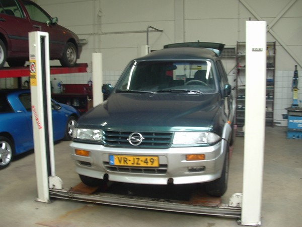 ssangyong musso 2.9 d-pic. 2