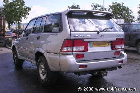 ssangyong musso 2.9 td-pic. 3