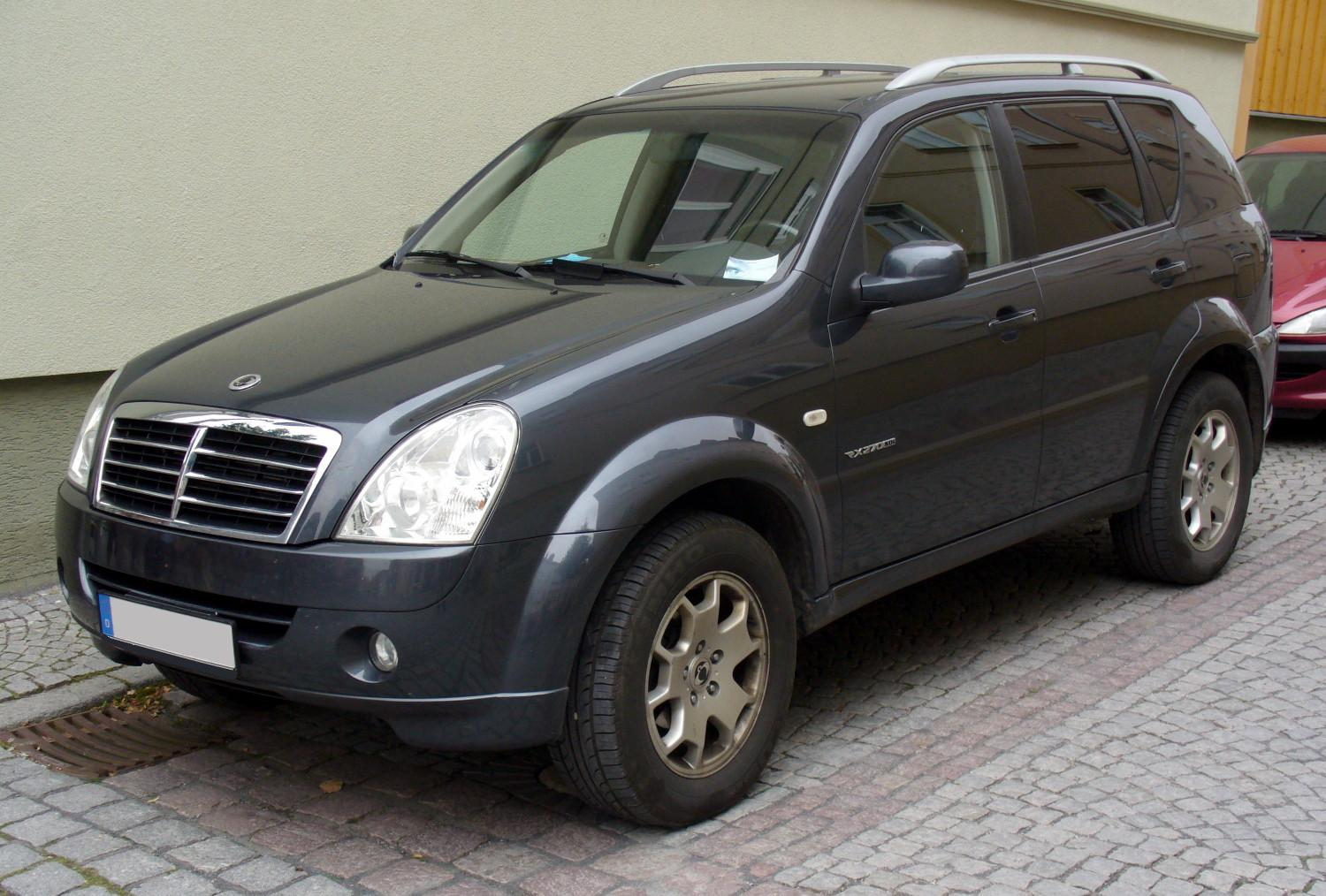 modifications of ssangyong rexton. Black Bedroom Furniture Sets. Home Design Ideas