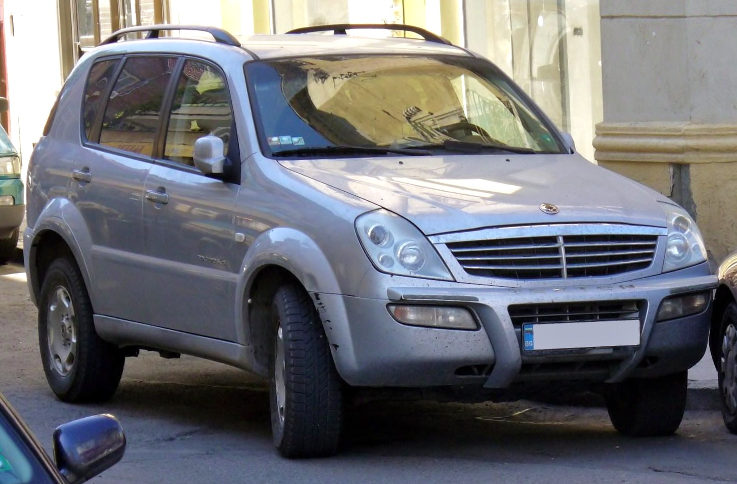 ssangyong rexton rx 270 xdi photos and comments www. Black Bedroom Furniture Sets. Home Design Ideas