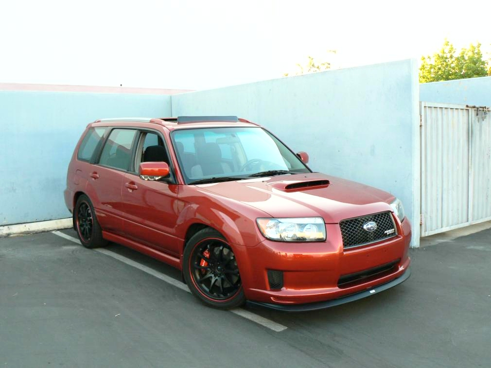 subaru forester 2 5 xt sports photos and comments