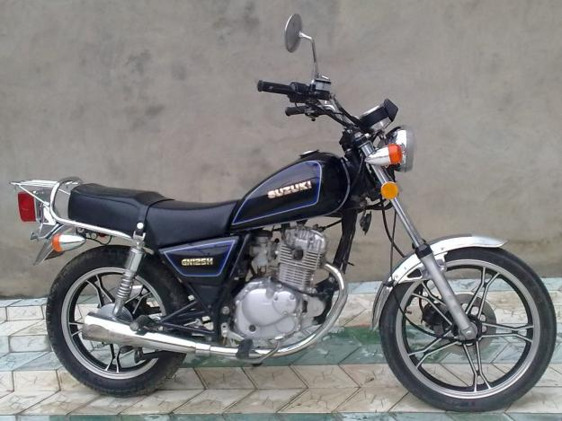 suzuki gn 125 photos and comments. Black Bedroom Furniture Sets. Home Design Ideas