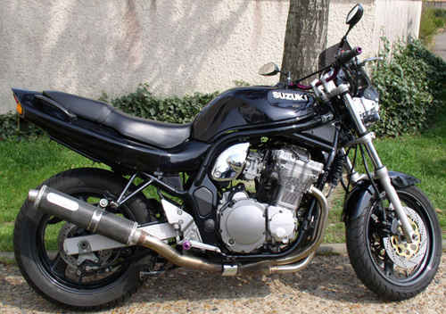 suzuki gsf 600 n bandit photos and comments. Black Bedroom Furniture Sets. Home Design Ideas