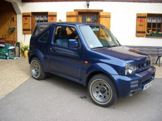 suzuki jimny cabriolet photos and comments. Black Bedroom Furniture Sets. Home Design Ideas