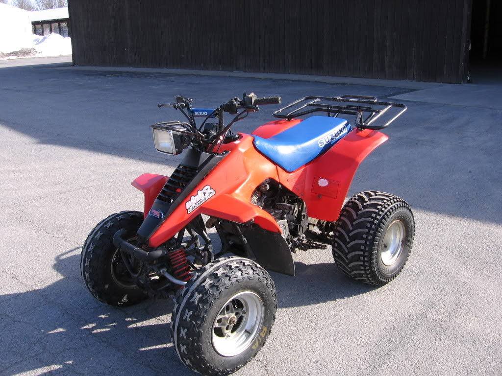 suzuki quadrunner 230 photos and comments. Black Bedroom Furniture Sets. Home Design Ideas
