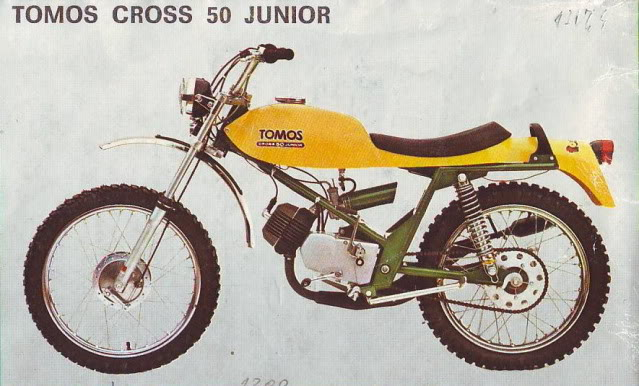 tomos cross 50 junior #2