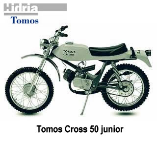 tomos cross 50 junior #3