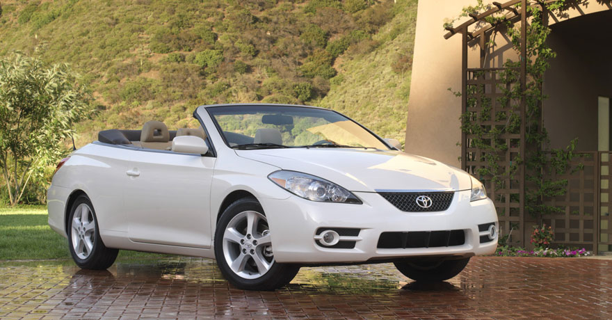 toyota camry solara sle convertible-pic. 2