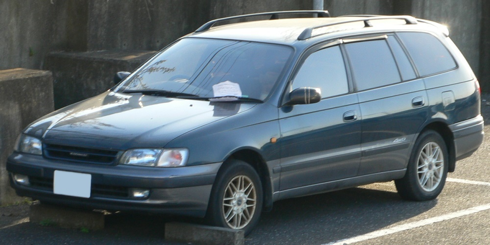 toyota carina estate #3