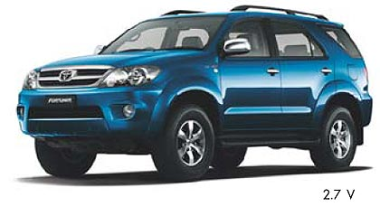 toyota fortuner 2.7 at #7