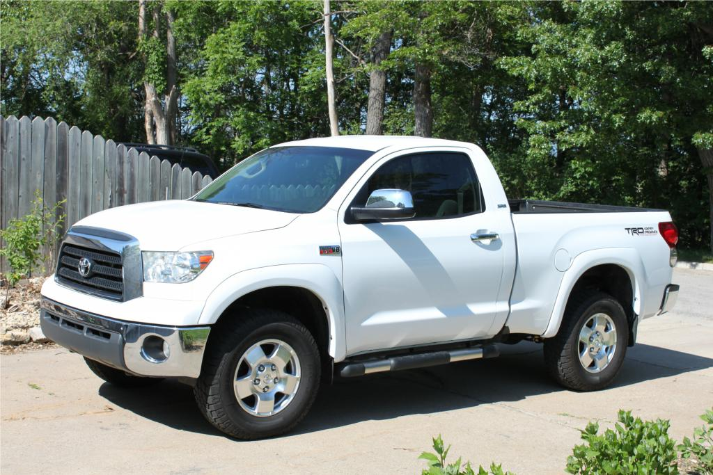 toyota tundra regular cab 4x4 photos and comments. Black Bedroom Furniture Sets. Home Design Ideas
