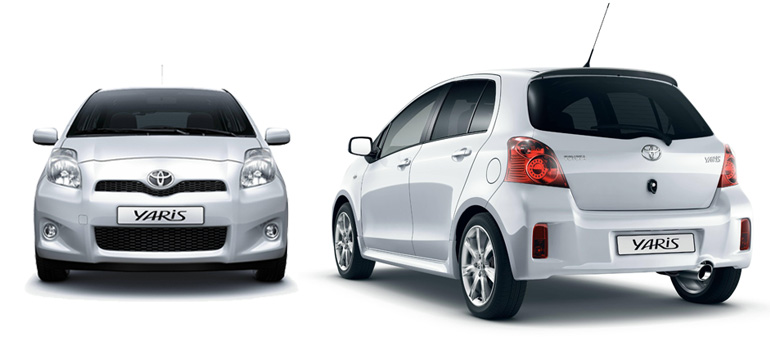 toyota yaris 1 8 ts photos and comments. Black Bedroom Furniture Sets. Home Design Ideas