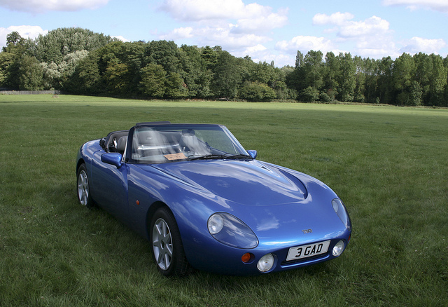 tvr griffith 4.0 #8