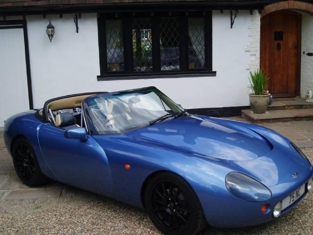 tvr griffith 5.0 #4