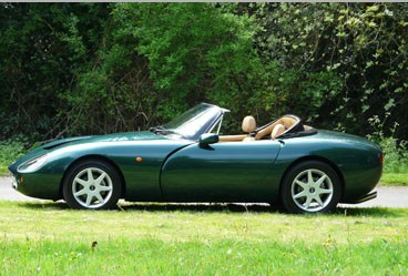 tvr griffith 500 #7