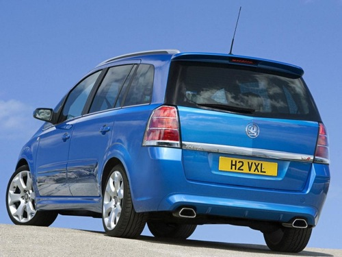 vauxhall zafira vxr photos and comments. Black Bedroom Furniture Sets. Home Design Ideas