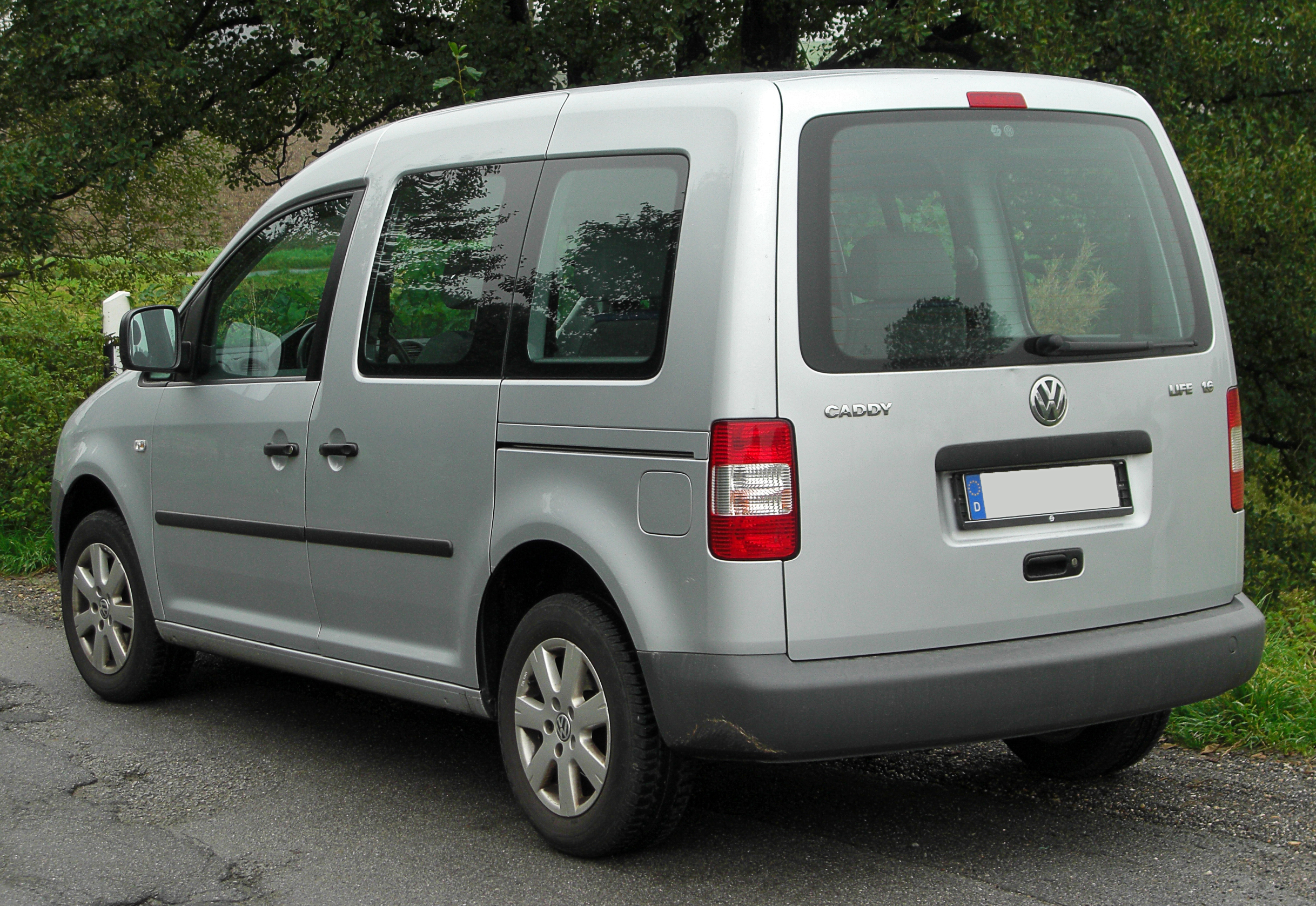 volkswagen caddy life 1.6 #1