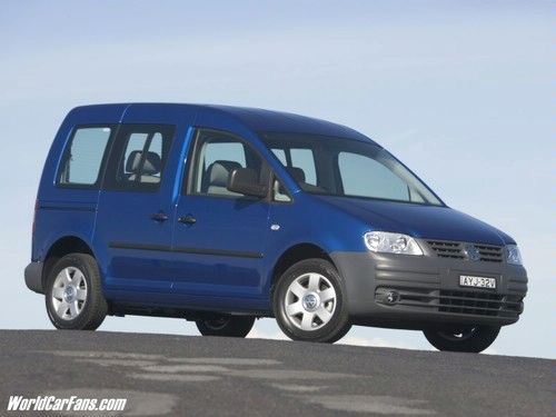 volkswagen caddy life 1.6 #4