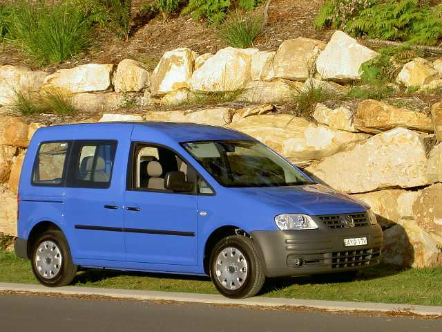 volkswagen caddy life 1.6 #8