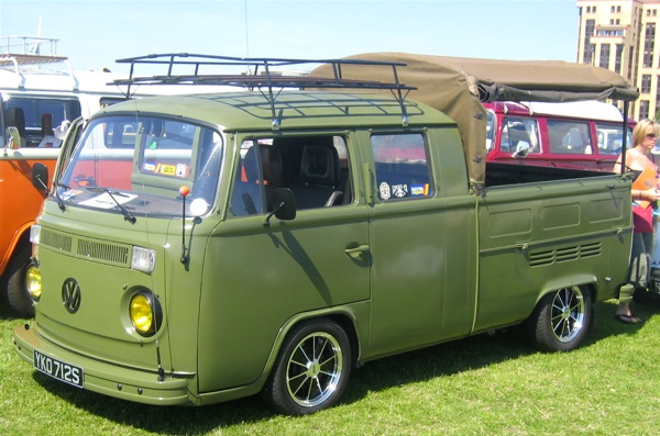 Volkswagen kombi pick up photos and comments www - Pieces combi vw t2 ...