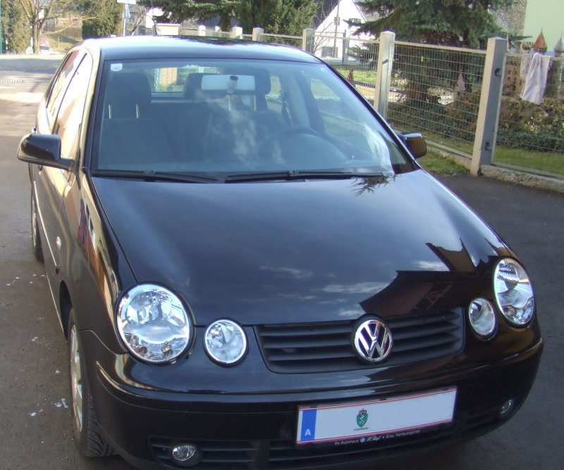 volkswagen polo 1 9 tdi highline photos and comments. Black Bedroom Furniture Sets. Home Design Ideas