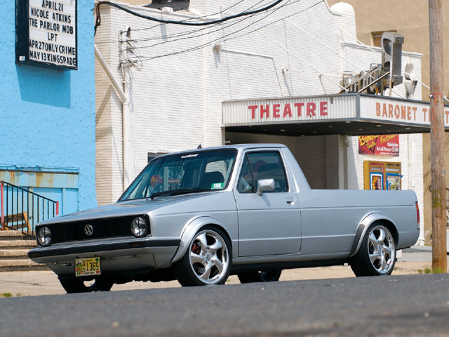 volkswagen rabbit pick-up