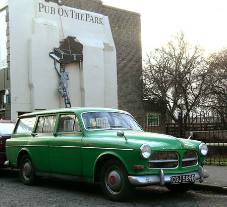 volvo 121 estate #1