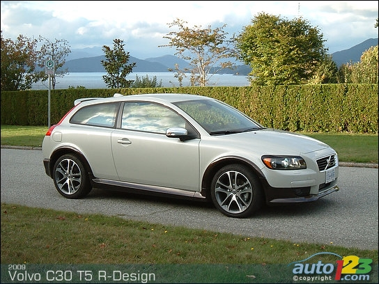 volvo c30 t5 r design photos and comments. Black Bedroom Furniture Sets. Home Design Ideas