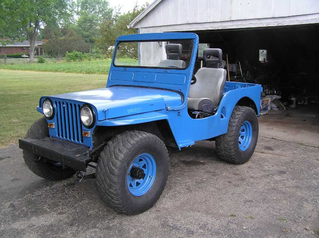 willys jeep cj7