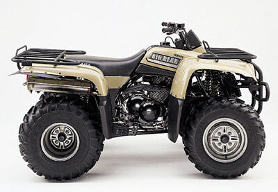 yamaha big bear 350 #1