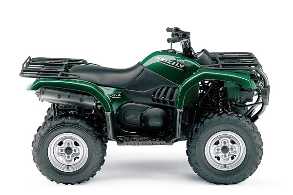 yamaha grizzly 660 #2