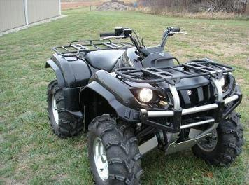 yamaha grizzly 660 #3