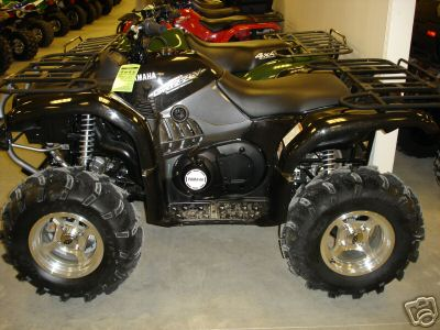 yamaha grizzly 660 #5