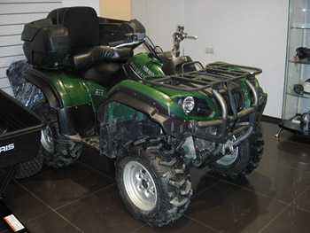yamaha grizzly 660 #6
