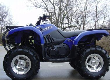 yamaha grizzly 660 #7