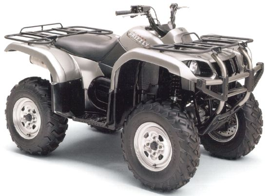 yamaha grizzly 660 #8