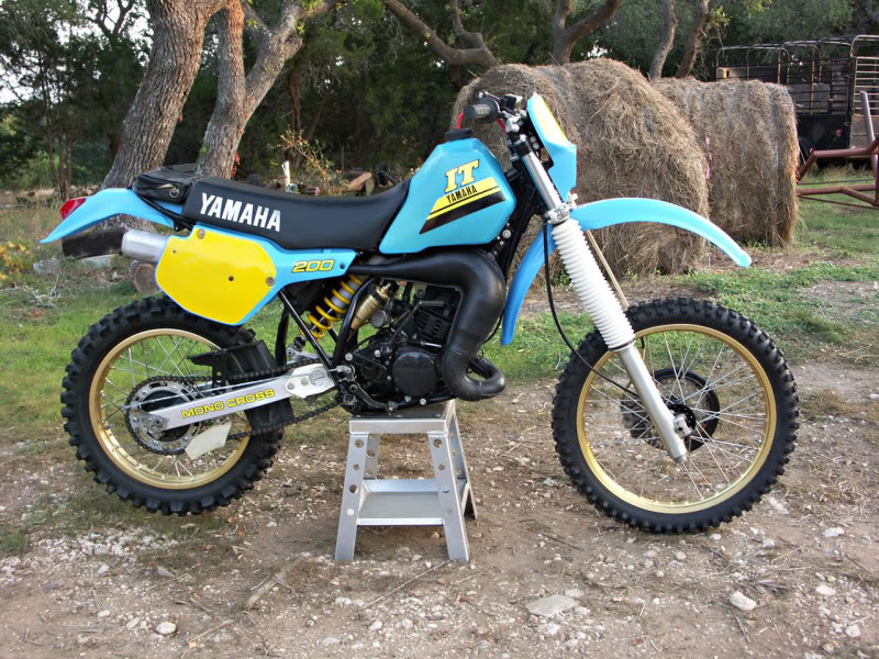 yamaha it 200 #2