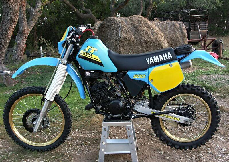 yamaha it 200 #6